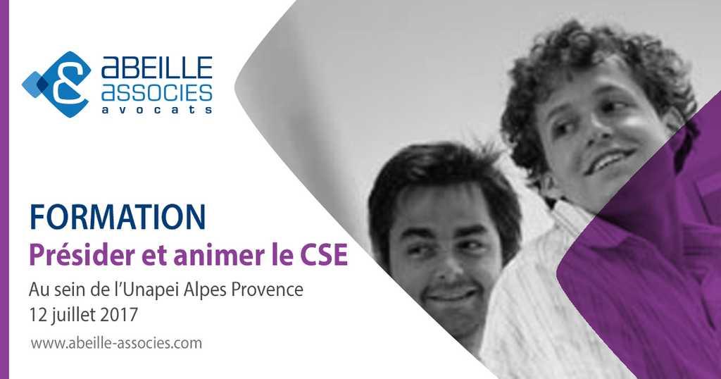 Formation CSE à l'Unapei Alpes Provence